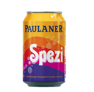Paulaner Spezi Soda ( 0.33 l - 11.16 flOz ) Tin Can (no alcohol)