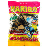 Haribo Denmark Brumbasser Chewy Marschmellow Sweet Soft Licorice Bag of 400g - 14.1Oz