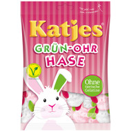 Katjes Green Ear Bunny - Grün-Ohr Hase Bag of 200 Gram / 7 Oz