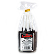 Jahnke Dark Schoko Salmiak (Chocolate Salmiak) Lollipop 5 pieces - 6.1 Oz - 175g