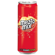 German Mezzo Mix Spezi Soda ( 0.33 l - 11.16 flOz ) Tin Can (no alcohol)