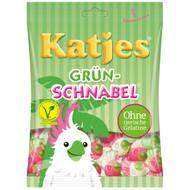 Katjes Grün-Schnabel - Green beak - Veggie soft candy - Bag of 200 Gram / 7 Oz