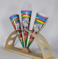 "KidsCone 14.5"" - The Medium One Horse & Rainbow"