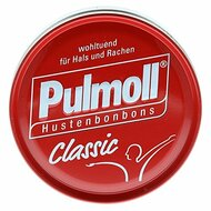 Pulmoll Hustenbonbon Classic red 75g -2.6oz  2 go tin