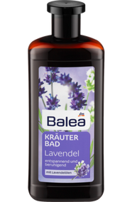 German herbal relaxing bath: lavender oil Lavendel  500 ml  - 16.9floz plastic bottle