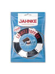 Jahnke Premium Toffees Lakritz / SeaSalt Licorice-cream Toffee Taffy  125g - 4.4 Oz