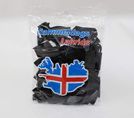 Icelandic Gammeldags - Old-fashioned sweet black soft Licorice - Bag of 350g - 12.3oz