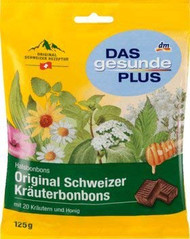 Original Swiss Herbal Sweets Cough Drops Bag of 125g - 4.4 oz