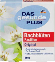 Bach Flower Pastilles Original Bachblüten Compare to Rescue Dr Bach Box of 50g - 1.7oz