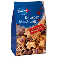 BB 03/31/2019 - Bahlsen Holiday Cookies Mixture of Christmas pastries some with bitter sweet chocolate Bag of 300g - 10.6 oz
