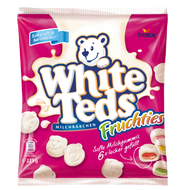 Storck White Teds Fuchties Milchbaeren Milk Bears with fruit filling Bag of 225g - 7.9oz