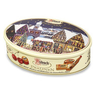 Asbach Assorted Chocolates filled with Brandy in a Festive xMas Tin 180g - 6.3oz