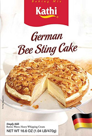 Kathi German Bee Sting Cake Mix, 17.8 Ounce