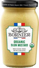 BORNIER Original Organic Dijon Mustard, 210g - 7.4 Ounce