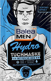 Hydro cloth mask for men, 1 pc Spa treatment for him