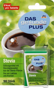 German Stevia Tablets Dispenser, 100 pcs - 6g