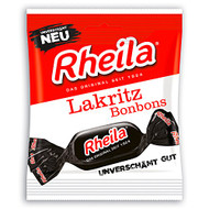 Rheila licorice hard candy bag of 50g - 1.76oz sweet, salty & herb