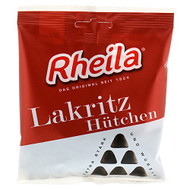 Rheila Lakritz Hütchen, Semi Soft Licorice Cones 90g - 3.1oz resealable bag
