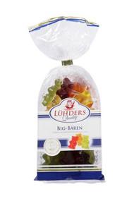 Luhders Gummy Big Bears Fruit Snacks 200g - 7.1oz
