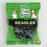 Gustaf's Dutch Licorice Beagles Gummy Candy, 150g - 5.29 oz bag