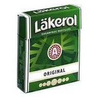 Original Sugar-free Pastilles 23g (Stevia) by Laekerol