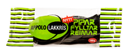 Icelandic Appolo Lakkris Pipar Fyllter Reimar (green), Licorice laces filled with licorice confect 160g - 5.6oz