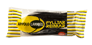"Icelandic Appolo Lakkris Fyllter Reimar (yellow), Licorice filled with ""marzipan"" confect 200g - 7z"