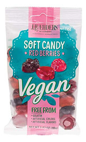 Luehders Gummi's Vegan Red Berries, 2.8 oz