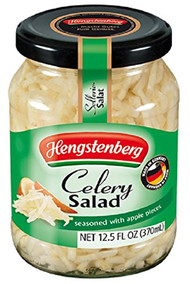 HENGSTENBERG Celery Salad, with Apple and Walnut oil - Selleriesalat, 370ml - 12.5 OZ
