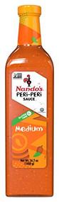Nando's Medium PERi-PERi Sauce - Gluten Free | Non GMO | 1 Liter