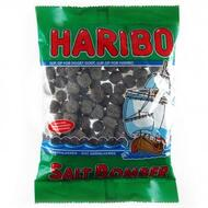 Haribo Denmark Saltbomber chewy licorice, Bag of 325g - 11.4 oz