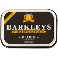 Barkleys Liquorice Licorice Pure Intense, 1 x Tin with 16g - 0.5oz