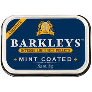 Barkleys Liquorice Mint Coated, 1 x Tin with 18g - 0.6oz