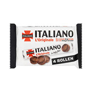 Salmiak Candy Roll | Italiano | L'Originale 4 rolls @ 38g | Total Weight 152g - 5.36 ounce