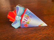"KidsCone Combo GiftCard light blue, ""abc"""