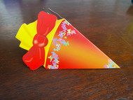 "KidsCone Combo GiftCard red/yellow ""Butterflies"""
