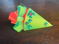 """KidsCone Combo GiftCard green """"LadyBugs & Luck"""""""