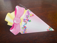"KidsCone Combo GiftCard light lilac ""Butterflies"""