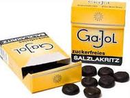 Ga-Jol Salzlakritz zuckerfrei / sugar free salty licorice Single pack of 20g  - 0.8 oz