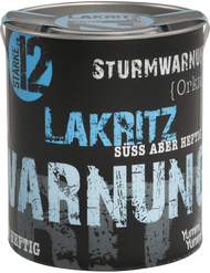 Storm Warning Strength 12:  Hurricane 120g - 4.2 oz Licorice Tin