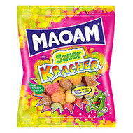 Haribo Maoam, Sour Kracher, Dragees, Chewy Candy, Sweets, Bonbon, In Bag, 175 g