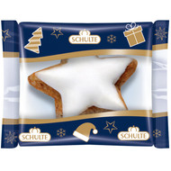 Schulte  Zimtsterne Cinnamon Stars, single wrapped  1 x Box of 900g - 31.7 oz