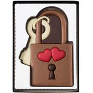 Weibler gift box love lock chocolate 80g - 2.8 oz