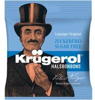 Kruegerol (Krügerol) Sugarfree East German BonBon, 1 x Bag of 50g / 1.7 oz