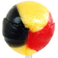1 XSingle Soccer Lollipop Lolly (raspberry)