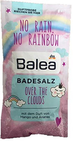 Bath Salt Over the clouds, mango & pineapple - 1 x Single Bag for one Bath 80g