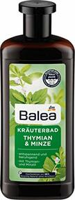 German Herbal Relaxing Bath: Thyme & Mint 500 ml - 16.9floz Plastic Bottle
