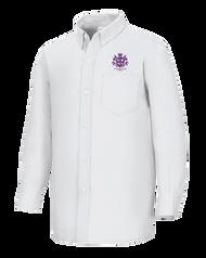Spellmon - Oxford Female Long Sleeve - White