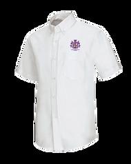 Spellmon - Oxford Male Short Sleeve - White