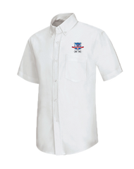 WLI - Oxford Male Short Sleeve - White